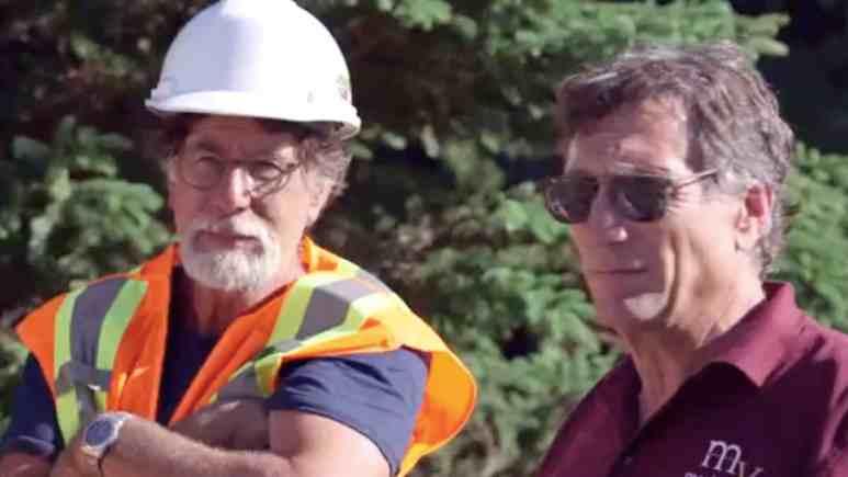 Rick and Marty Lagina on The Curse of Oak Island Season 7