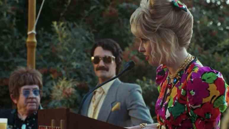 Matthew Morrison as Trevor and Leslie Grossman as Margaret