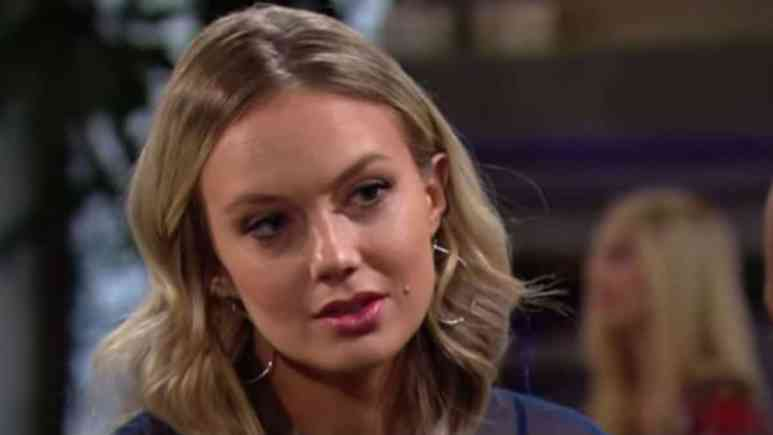 Melissa Ordway as Abby on The Young and the Restless.