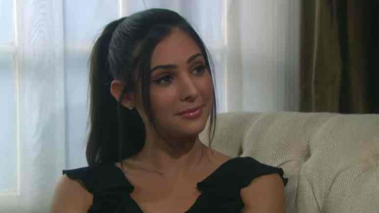Camila Banus as Gabi on Days of our Lives.
