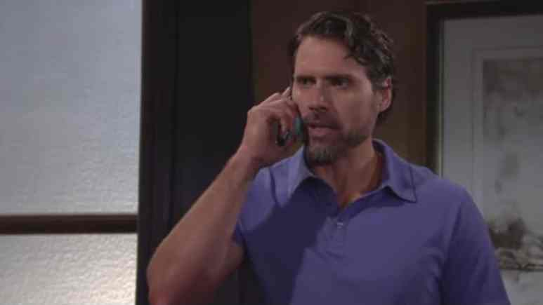 Joshua Morrow as Nick on The Young and the Restless.