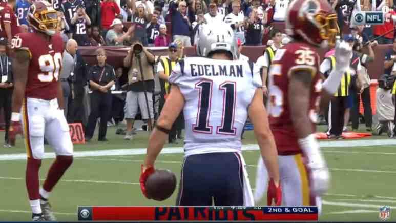 Julian Edelman of the Patriots