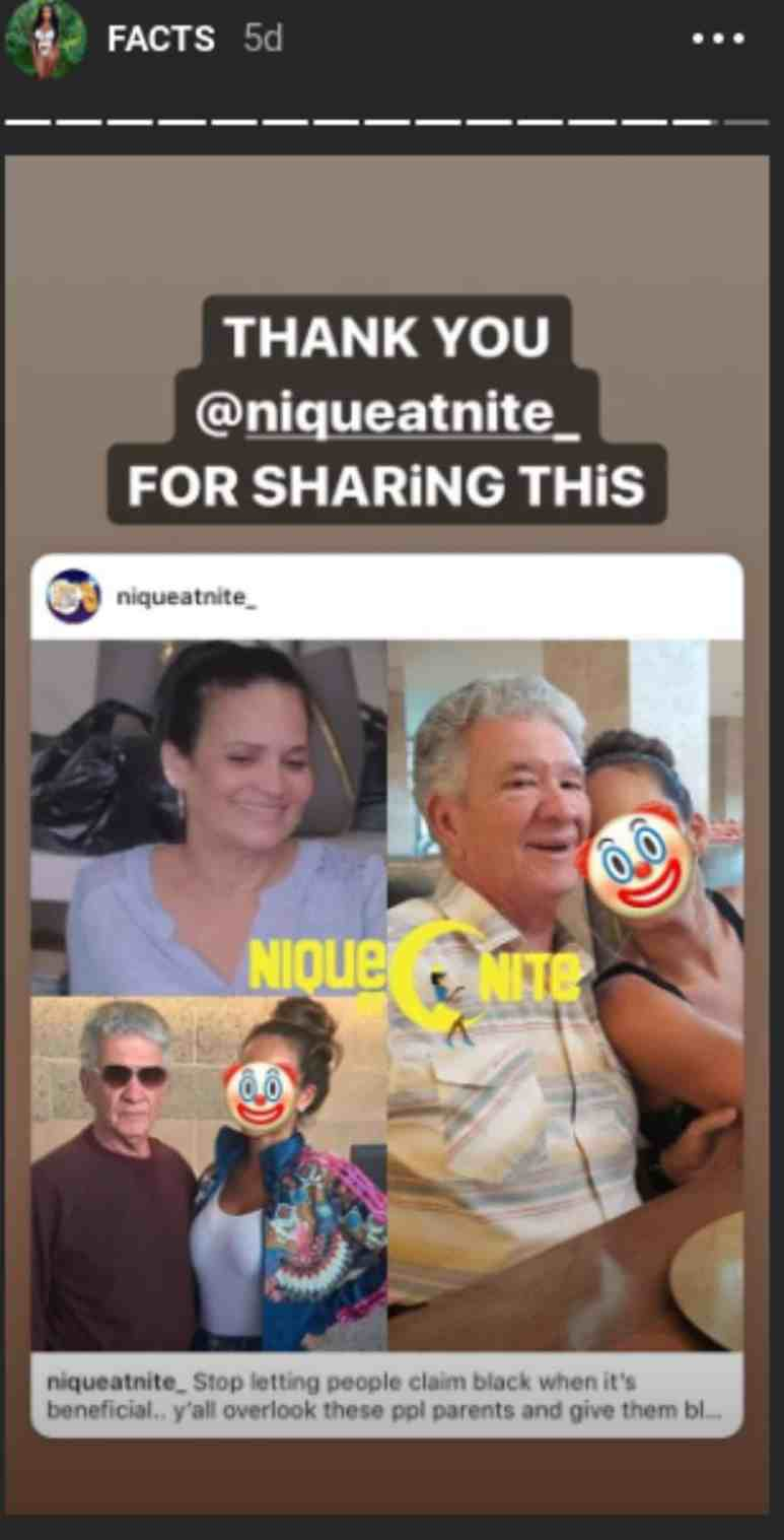 Shared on OG's Instagram story