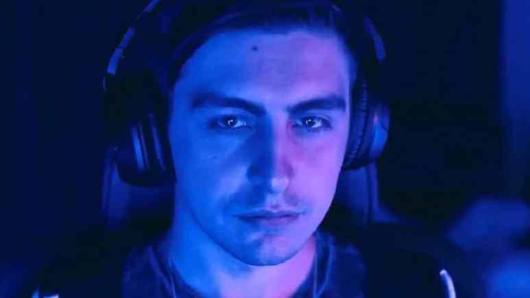 Twitch streamer Shroud on Mixer