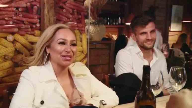 Stacey Silva and her Albanian boyfriend Florian