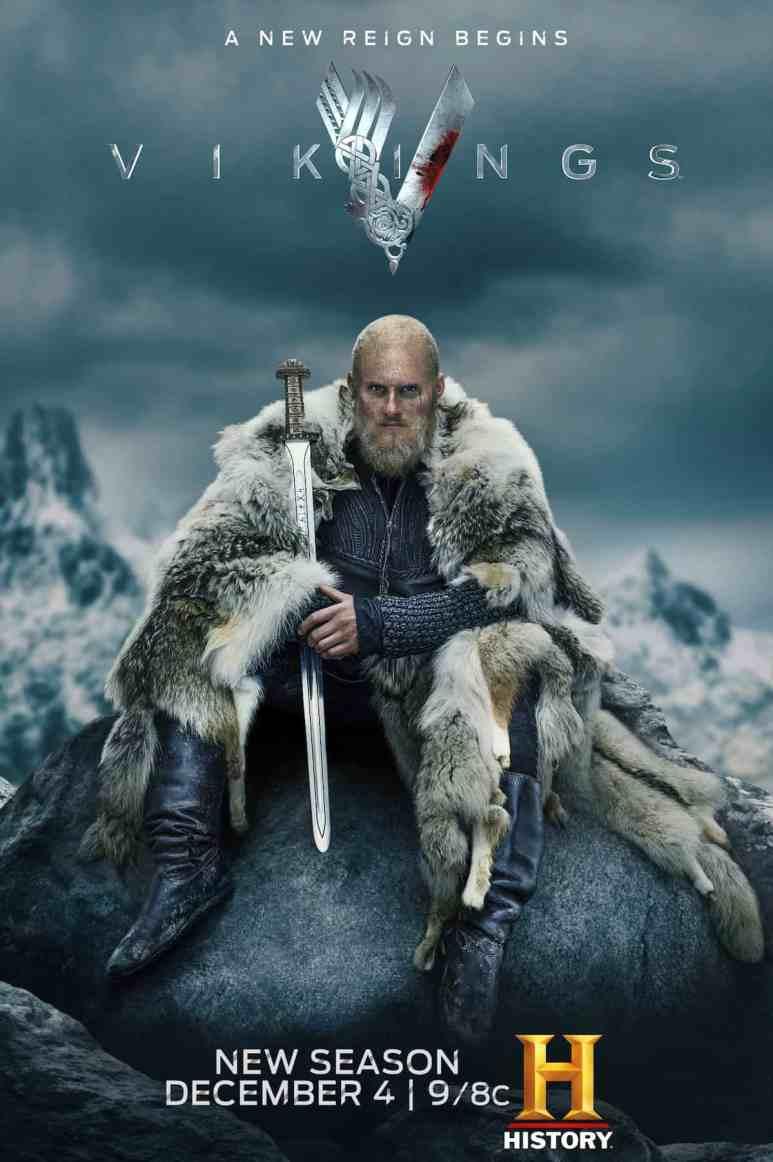 Alexander Ludwig as King Bjorn in Vikings Season 6