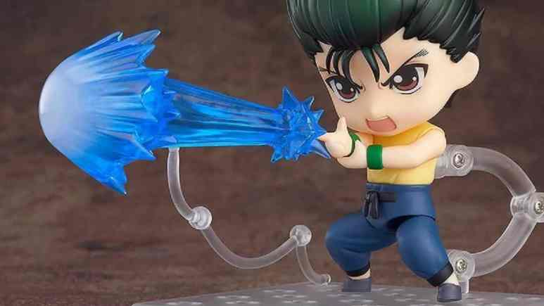 Yusuke's Spirit Gun attack
