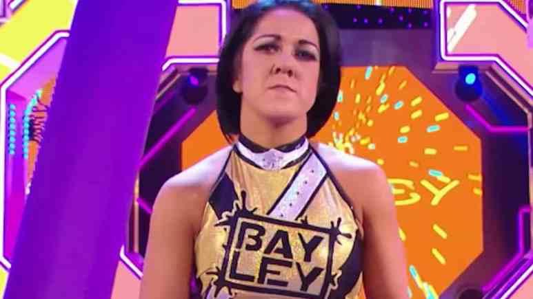 heel bayley appears on smackdown on fox
