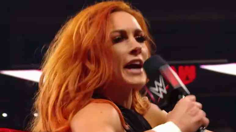 wwe raw womens champion becky lynch calls out aew roster
