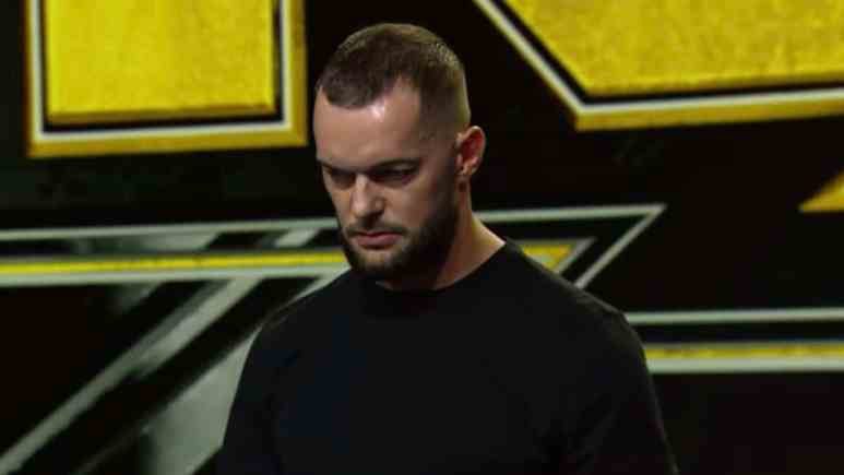 finn balor on the october 23 episode of wwe nxt