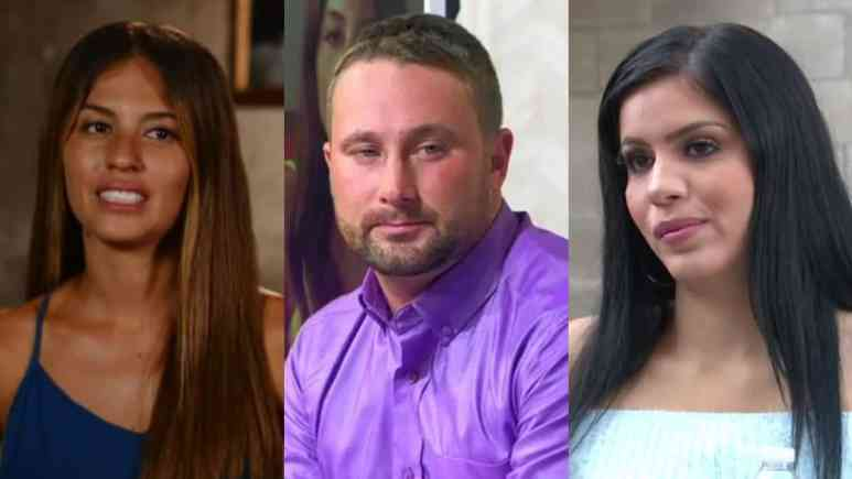 Evelin, Corey and Larissa from 90 Day Fiance