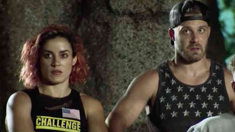 cara maria and paulie watch the proving ground elimination on war of the worlds 2