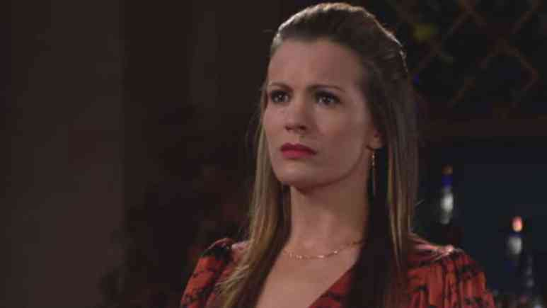 Melissa Claire Egan as Chelsea on The Young and the Restless.