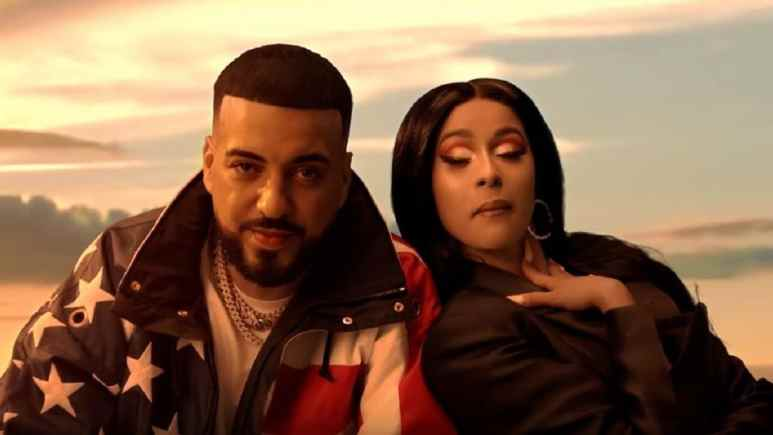 French Montana performs in a music video