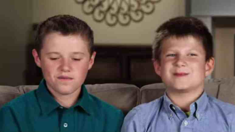Jackson and Tyler in Counting On confessional.