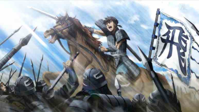 Kingdom anime artwork
