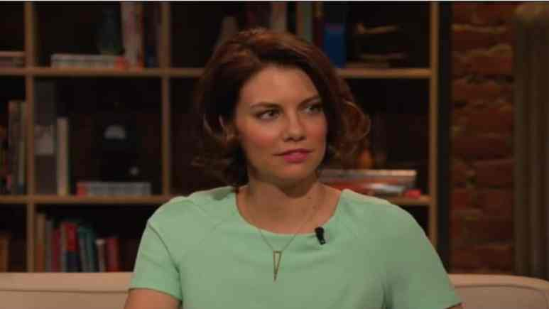 Lauren Cohan On Talking Dead