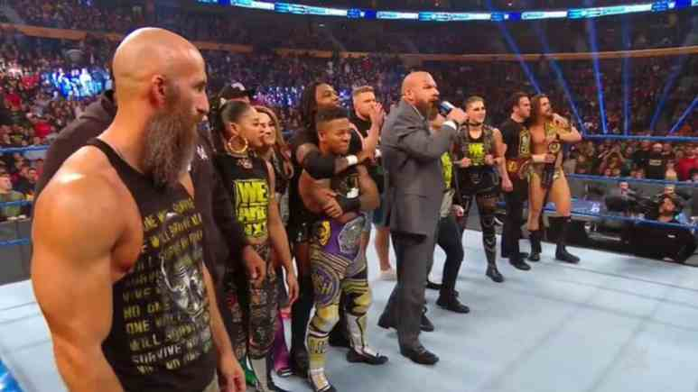 NXT invades SmackDown