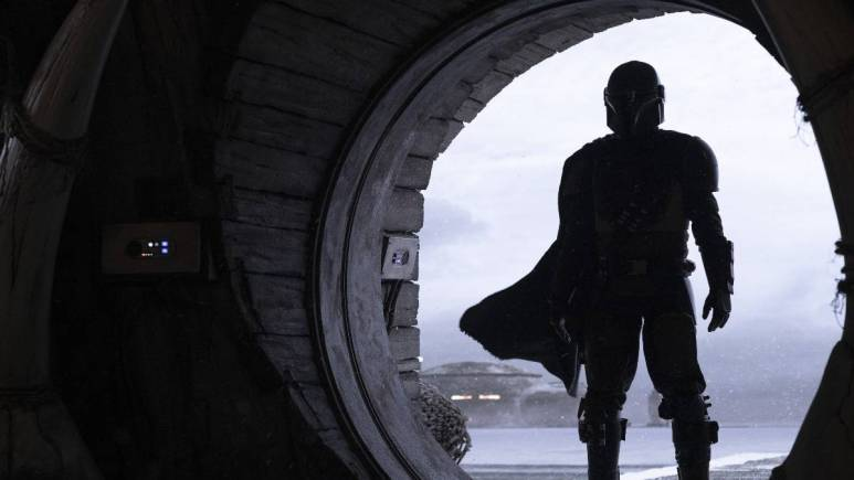 Pedro Pascal in The Mandalorian on Disney+
