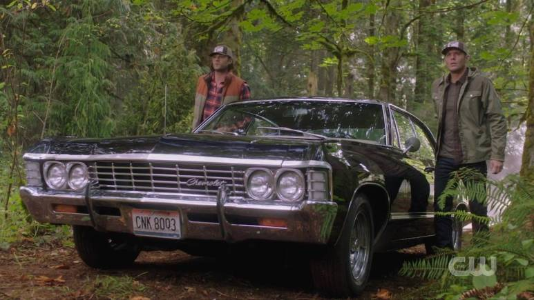 Sam and Dean investigate werewolves on Supernatural season 15. Pic credit: The CW