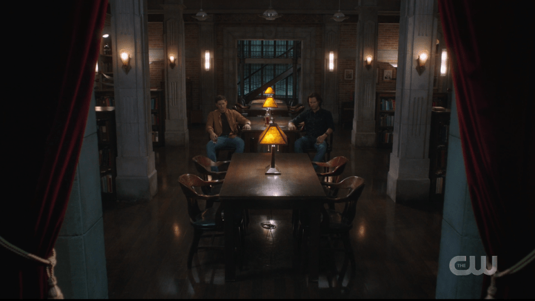 Sam and Dean realize they are still puppets in God's play, Supernatural season 15. Pic credit: The CW