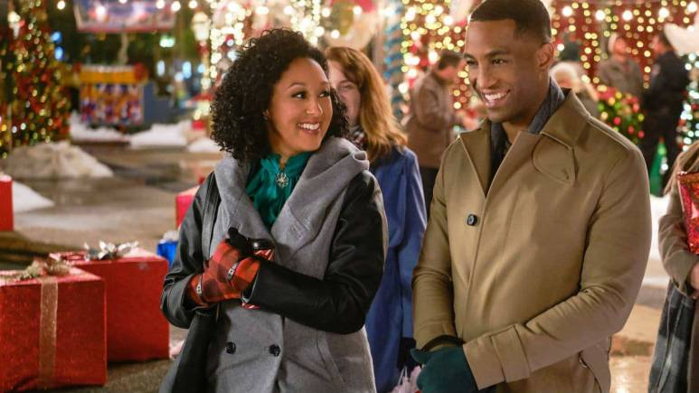 Tamera Mowry-Housley teases nw Hallmark Christmas movie.