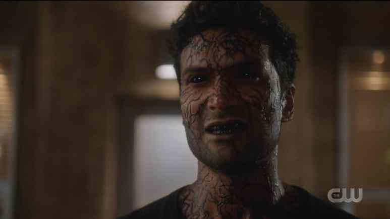 Sendhil Ramamurthy as Ramsey Rosso is a dark matter monster. Pic credit: The CW