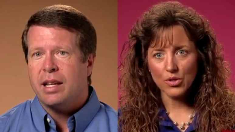 Jim Bob and Michelle Duggar on Counting On