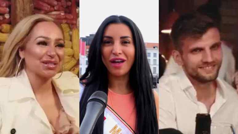 Darcey Silva, Shanti Zohra and Florian Sukaj