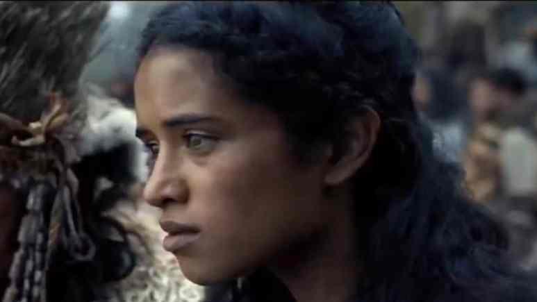 actress yadira Guevara-Prip as bow lion on see
