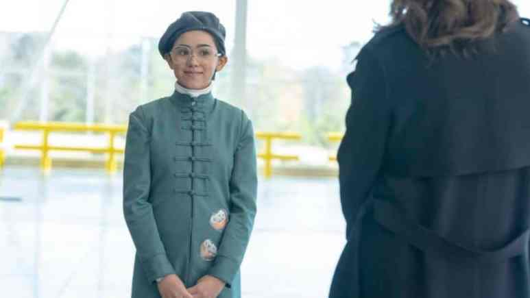 Bian on Watchmen: Jolie Hoang-Rappaport plays the girl with an old woman's soul