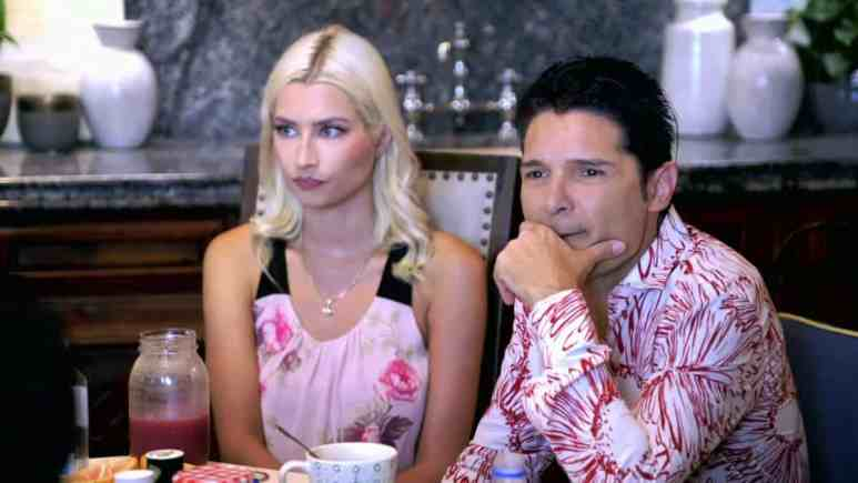 Corey Feldman with Courtney on Marriage Boot Camp Family Edition