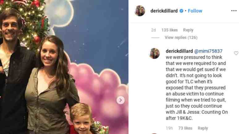 Derick Dillard spills more tea on Instagram.