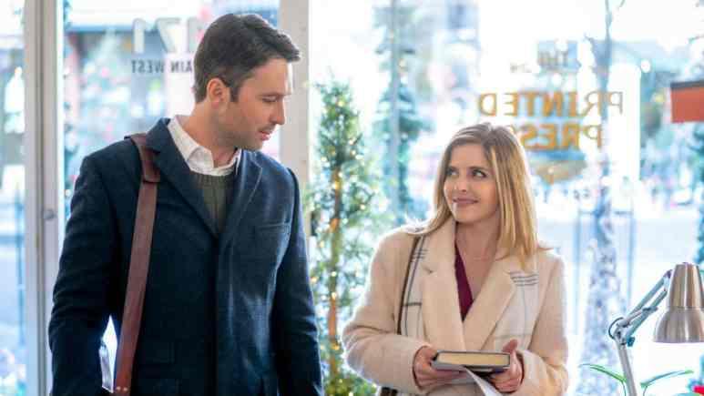 Jen Lilley stars in Angel Falls: A Novel Holiday on Hallmark