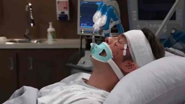 Ryan Carnes as Lucas on General Hospital.