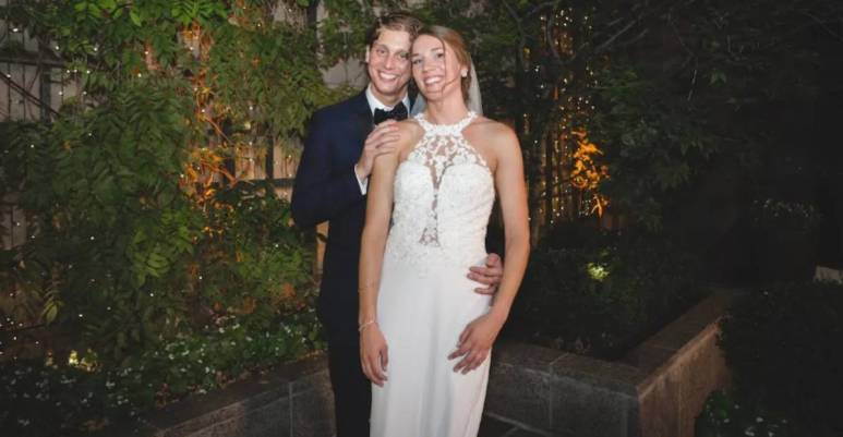 Austin Hurd and Jessica Studer