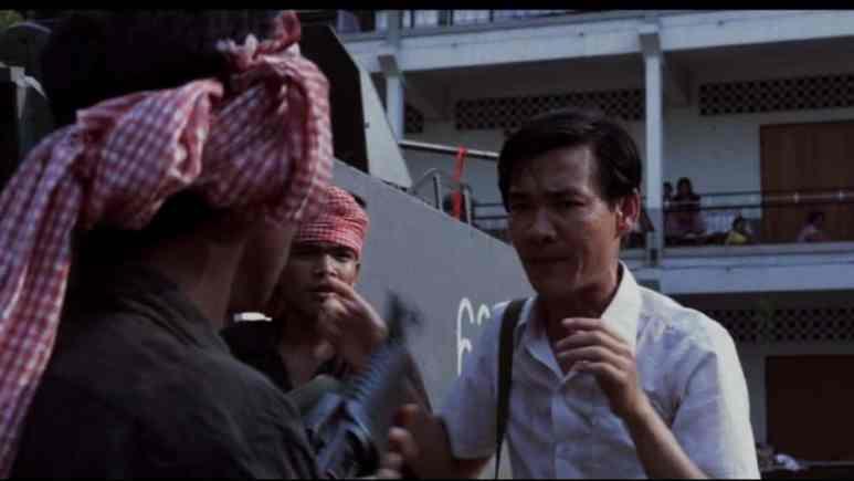 Dr. Haing Ngor in movie The Killing Fields