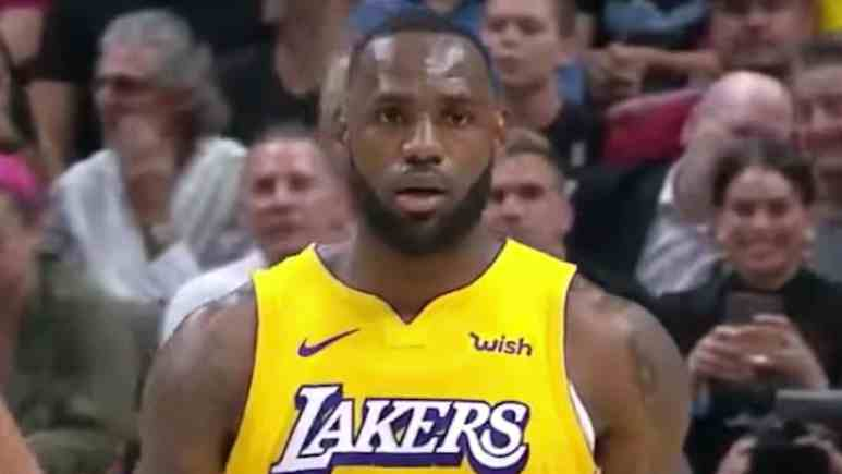lebron james in lakers heat highlights 2019