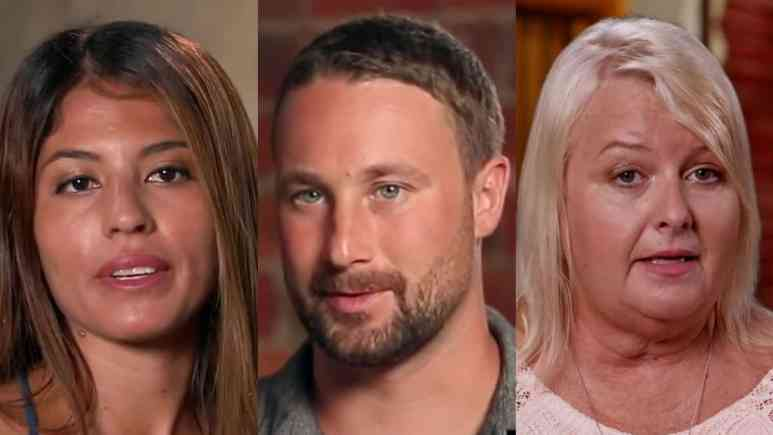 Evelin Villegas, Corey Rathgeber and Laura Jallali on 90 Day Fiance: The Other Way