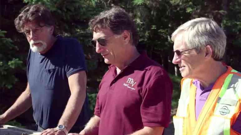 Rick Lagina, Marty Lagina and Craig Tester