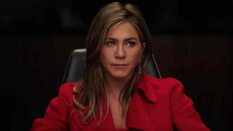 jennifer aniston as alex levy on the morning show