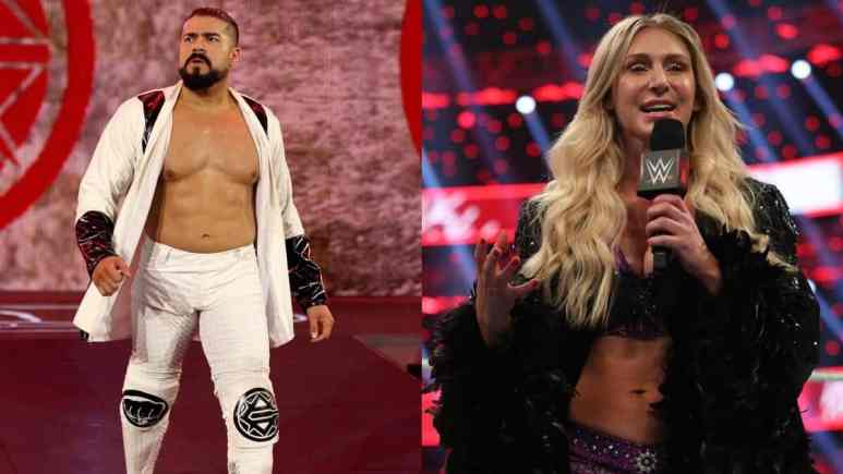 Andrade and Charlotte Flair get engaged on New Year's Eve