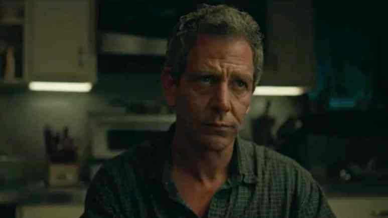 Ralph Anderson on The Outsider: Ben Mendelsohn plays a detective investigating an impossible case