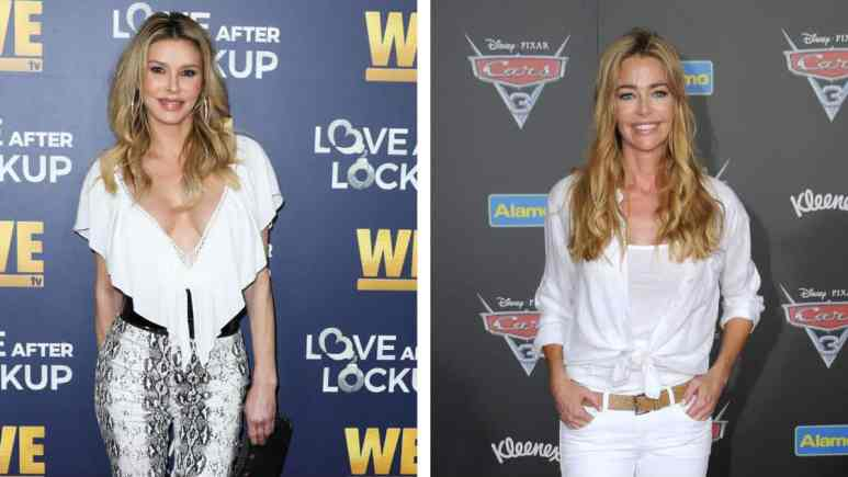 RHOBH stars Denise Richards and Brandi Glanville are feuding.
