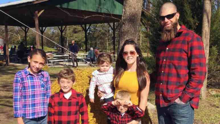 Jenelle Evans David Eason and their children