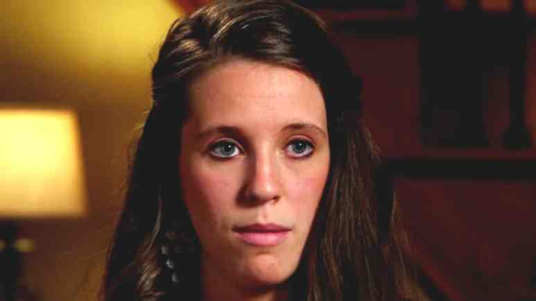 Jill Duggar during a Counting On confessional.