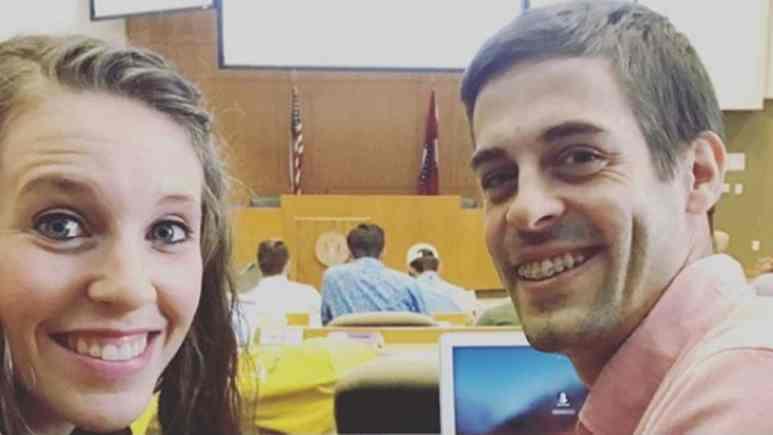 Jill Duggar and Derick Dillard selfie.