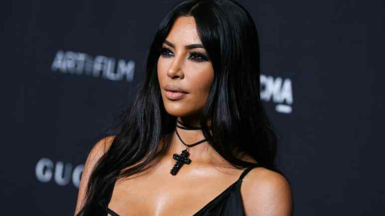 Kim Kardashian poses in bra on Instagram with sons