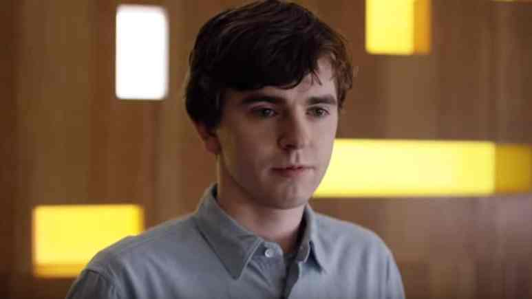 Freddie Highmore as The Good Doctor