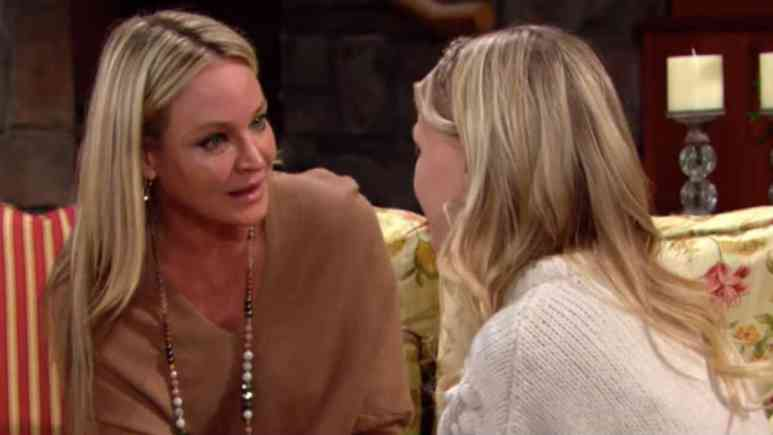 Sharon's breast cancer begins on the Young and The Restless